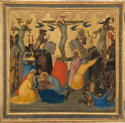 Scenes from the Passion of Christ: The Crucifixion [middle panel]