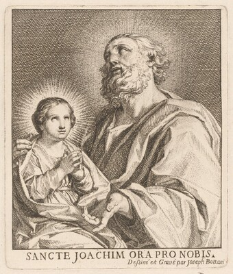 Saint Joachim and the Infant Virgin Mary