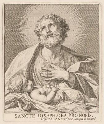 Saint Joseph and the Infant Jesus
