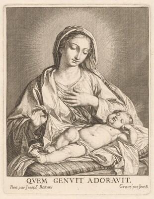 The Virgin and Sleeping Child