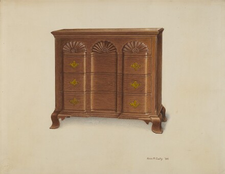 Block Front Chest of Drawers