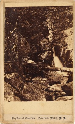 Rapids and Cascades, Franconia Notch, New Hampshire