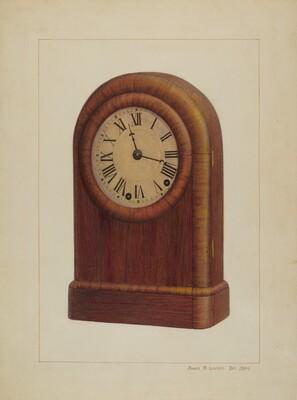 Shelf Clock or Mantel Clock