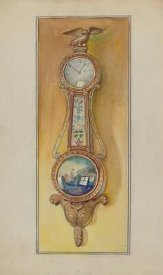 Clock, Girandole