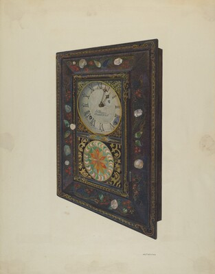 J.C. Brown Clock