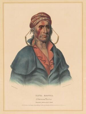 Payta Kootha, a Shawnee Warrior