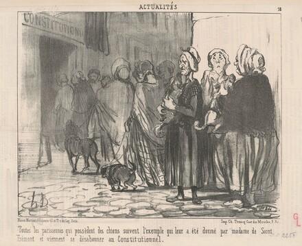 Toutes le Parisiennes qui possèdent des chiens ...