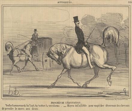 Progrès de l'équitation