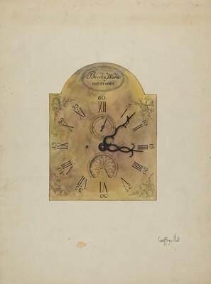 Grandfather Clock Dial