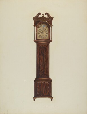 Duncan Beard Grandfather Clock