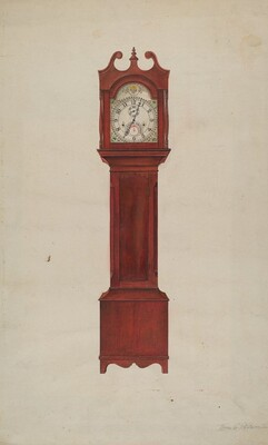 Hall Clock (Grandfather's Clock)