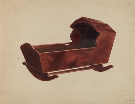 Mahogany Cradle