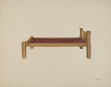 Sewing Settee