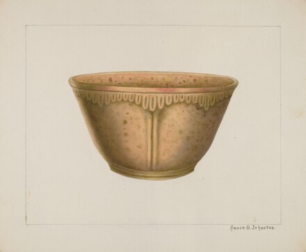 Bowl with Ornamented Rim