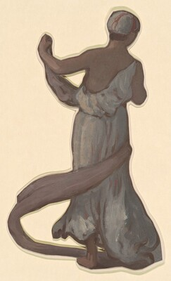 Standing Figure III (study for Greek Girls Bathing)