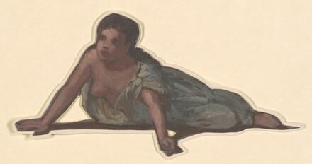 Reclining Figure (study for Greek Girls Bathing)