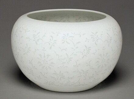 Bowl with Rice Grain Decoration