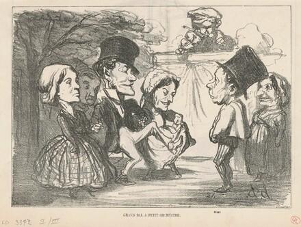 Grand bal a petit orchestre...  (recto); Une société en nom collectif (verso)