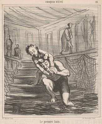 Le premier bain