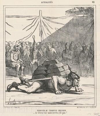 Exercises de l'hercule prussien
