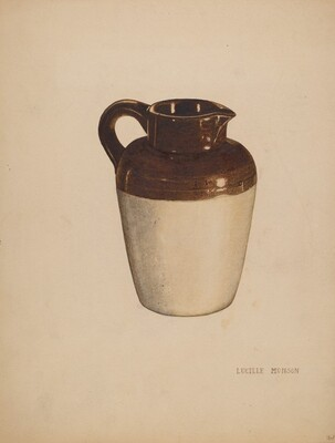 Crockery Pitcher