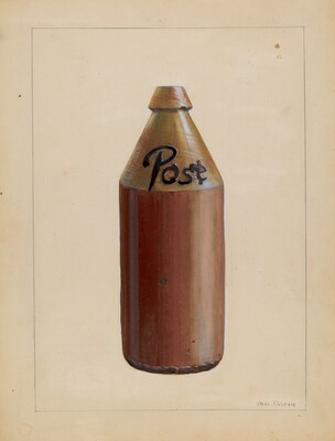 Bottle, Root Beer