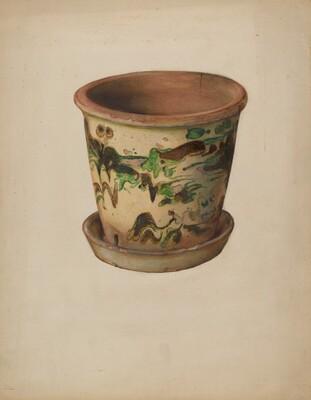 Flower Pot with Saucer