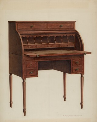 Roll-top Desk