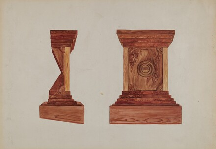Redwood Burl Pulpit