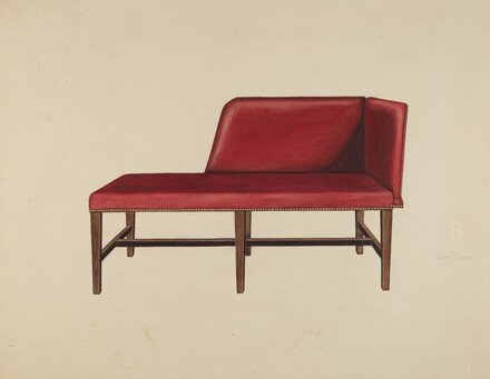Settee or Chaise Lounge