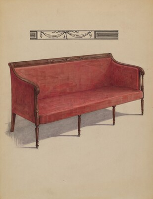 Sofa (Sheraton)