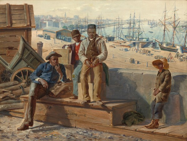 Negro Boys on the Quayside