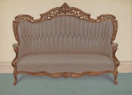 Rosewood Sofa