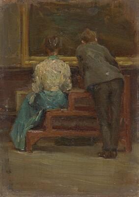 Charles Sheeler and Nina Allender