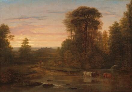 A Landscape after Sunset