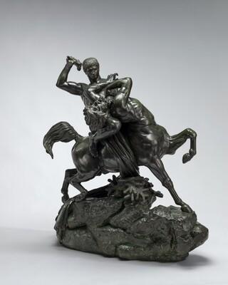 Theseus Fighting the Centaur Bienor