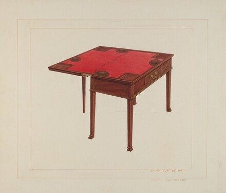 Three Leaf Gaming Table