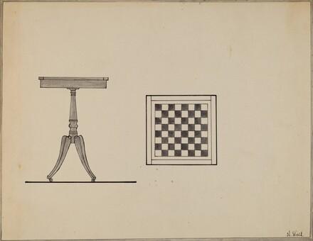 Checkerboard Table