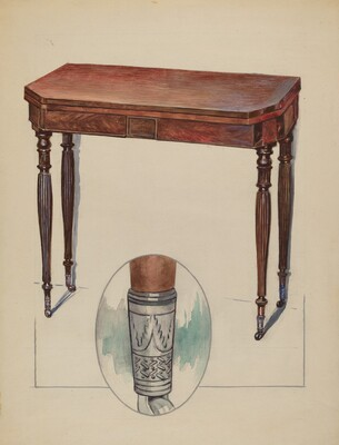 Table (Console or Card Table)