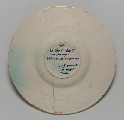 Plate with the Sinking of the Fleet of Seleucus (from the Pucci Service)