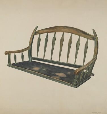 Prairie Schooner Seat