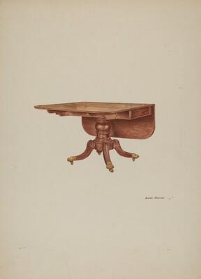 Table, Drop-leaf