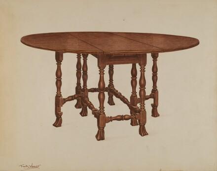 Gate-legged Table