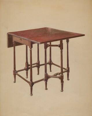 Table (Drop-leaf)