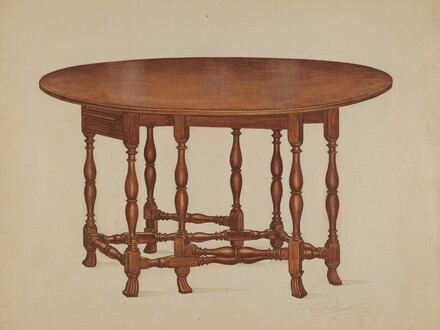 Gate-legged Table