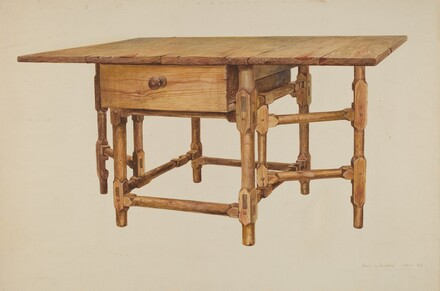 Gate-legged Dining Table