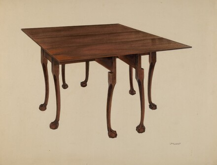 Gatelegged (Table) Ball & Claw Feet