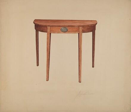 Half-round Table