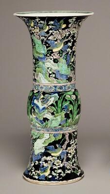 Zun-Shaped Beaker Vase