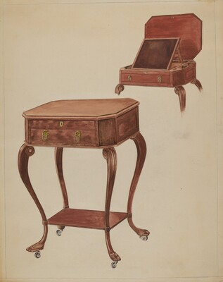 Writing or Sewing Table
